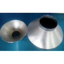 Tapa de giro de metal de dibujo profundo de aluminio