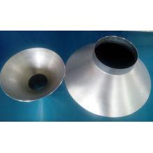 Chapeau de filature en aluminium de dessin profond en métal