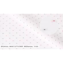 Weiches MAGIC CUT FLOWER 100% Baumwollstoff für Hemden