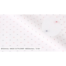 Tecido de algodão 100% macio MAGIC CUT FLOWER para camisas