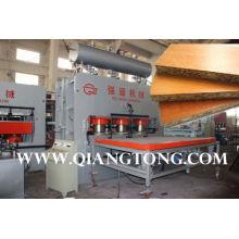 Spanplatte Melamin-Laminierung Pressenlinie / YX1200T-8X4 Füße Möbelplatten, die Maschine herstellen