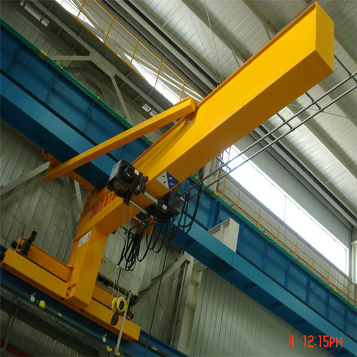 Wall Traveling Jib Crane2
