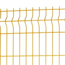 triangular bends 2x2 galvanized welded wire mesh panel