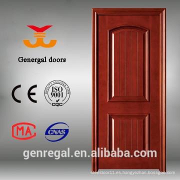 Puertas de madera sólida compuesta de la casa interior del mejor precio