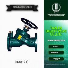 Chauffe-eau régulateur de gaz valve fonte