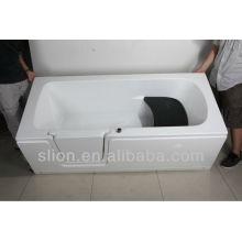Banheira de acrílico para crianças ou idosos / Walk in Bath