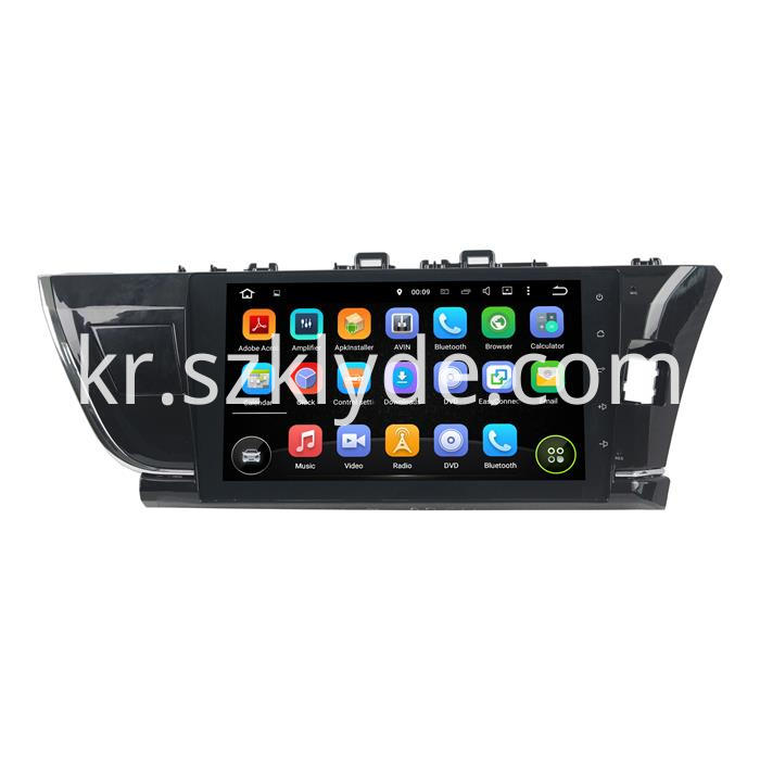 COROLLA 2015 Car dvd player