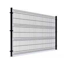 Low Price Triangular bending wire mesh fence for garden