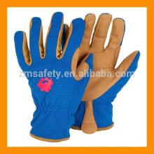 Schützende Kinder Leder Gartenhandschuhe für Gartenarbeit und Sicherheit