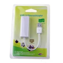 Mini USB 2.0 Ethernet Adaptateur réseau LAN adaptateur
