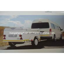 (BT670) New Model Box-Type Travel Trailer Hot-Selling