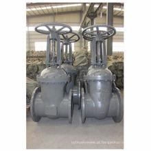 GOST cuniform aço fundido válvula de grande diâmetro de água, tubo de óleo usado válvula de portão