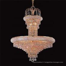 Guzhen conduit lustre à la maison de cristal accrochant la lumière pendante