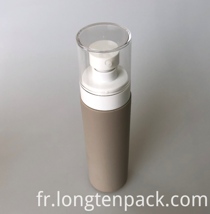LTP8019 HDPE bottle with lotion pump