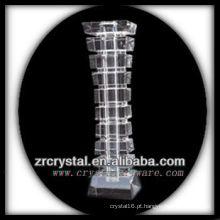Vaso de cristal agradável L019