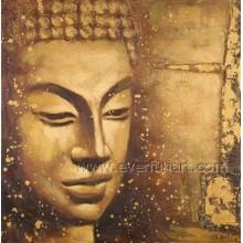 Pintura a óleo da alta qualidade Buddha (BU-026)