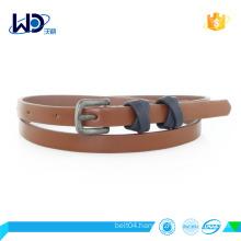 fashion fancy pu belt for lady