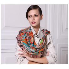 Bufanda cuadrada grande de las lanas calientes de la manera del invierno al por mayor