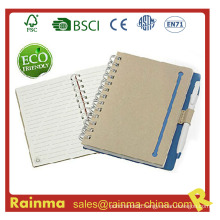 High Quality Paper Notebook with Eco Pen