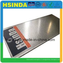 Revêtement en poudre métallisée Gris Aluminium Ral 9007 de haute performance