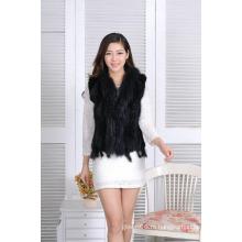 Осень Sprinf моды короткий жилет, горячие Продаем женщин весной мех трикотажные куртки