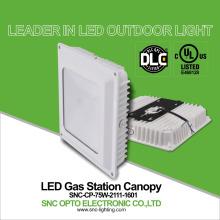 UL DLC parking lot led canopy lights 75W led outdoor canopy light IP65