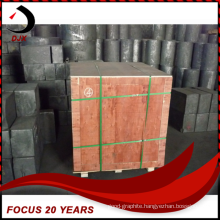 High Purity Artificial Graphite Block Graphite Rod for Semiconductor