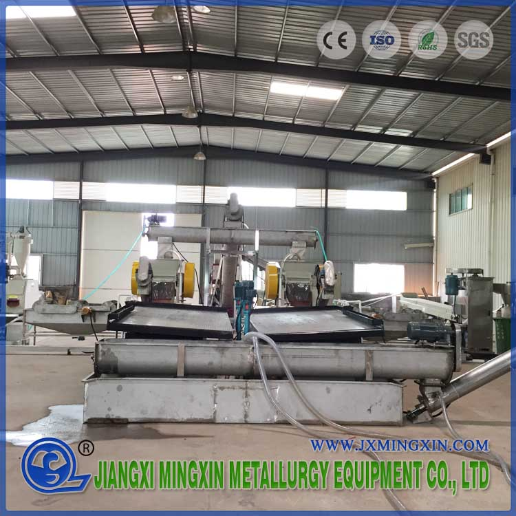 Stainless Steel Scrap car lead battery recycling line