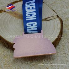 Médailles de gaufrage personnalisées Médailles d'amusement pour enfants