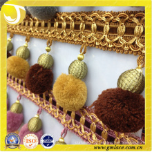Hangzhou Taojin Textile Co. Ltd of Sofa Decor Pom Pom Trim