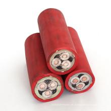 Großverkauf der fabrik Schwere Flexible unterirdischen bergbau kabel