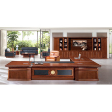 Un ensemble complet classique antique de bureau de luxe de solutions d'arrêt de meubles pour la vente en gros