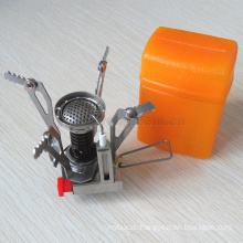 hot sale Portable Outdoor Picnic Cook Gas Butane Propane Burner Mini Steel Camping Stove