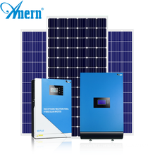 Grid tie whole house solar power system 5KW including battery