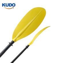 Wholesale cheap plastic adjustable aluminum kayak paddle for canoe