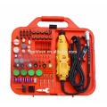 163pcs 135W Portable Hobby Mini Grinder Accessory Set with Flex Shaft Handheld Electric Rotary Drill Kit