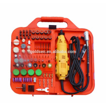 163pcs 135W With Flex Shaft Driver Portable Power Hobby Rotary Tools Kit Grinder Accessory Set Electric Mini Drill Tool
