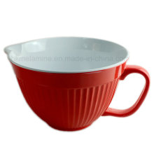 2PCS Bicolor Melamine Mixing Bowl with Handle (BW271)