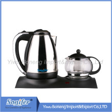 Electric Kettle Set/Tea Set/Water Kettle Set with Tray Tg929