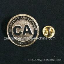 Souvenir Custom Cloissone Hard Enamel Pin Badge