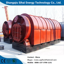 Used plastic refinery to carbon black pyrolysis machine
