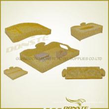 Habitación de hotel de acrílico Amenity Suit Yellow Cloud Series