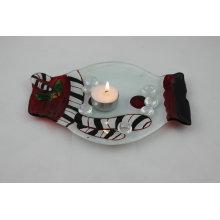 Стеклянная свеча на ужин (KLP120912-13B)
