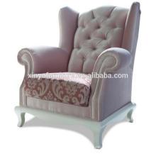Elegant soft fabric hotel lobby chair XYD236