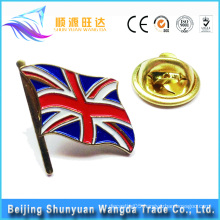Supplier Good Quality Custom Metal Badge Emblem National Flag Pin Badge