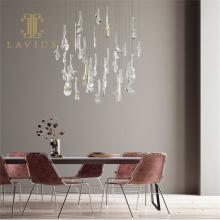 Kundenspezifische Home Decoration Led Crystal Pendelleuchte