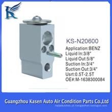 Auto válvula de controle do compressor de ac para ac para benz