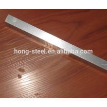 Barra cuadrada de SUS304 inoxidable acero cepillado acabado precio