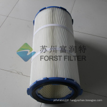 FORST Three Bolts Cap Filter Powder Booth Cylindrical Cartridge Filter