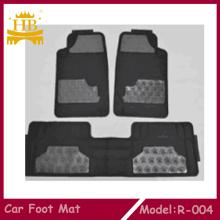 Hot vente PVC caoutchouc motif imprimé tapis de sol voiture